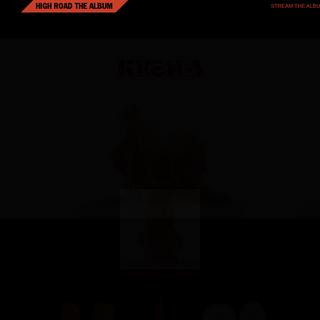 The High Road Tour - Kesha