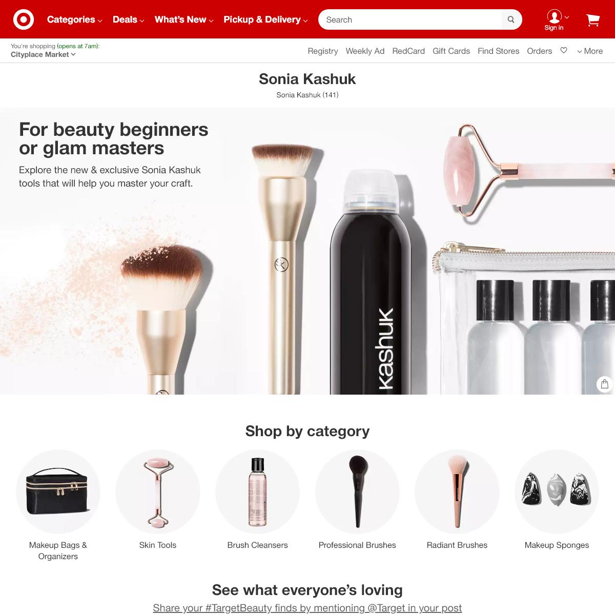 Sonia Kashuk - Target
