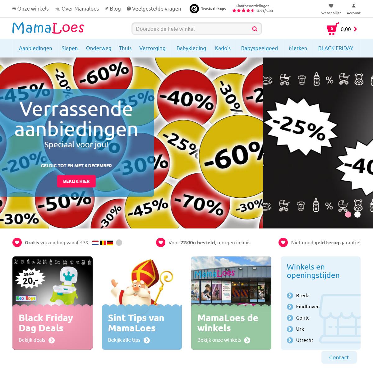 De winkel voor al je babyartikelen - MamaLoes