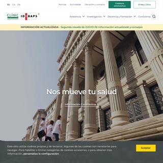 Nos mueve tu salud - Hospital Clínic Barcelona
