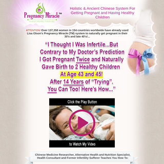 Pregnancy Miracle™ - Official Website
