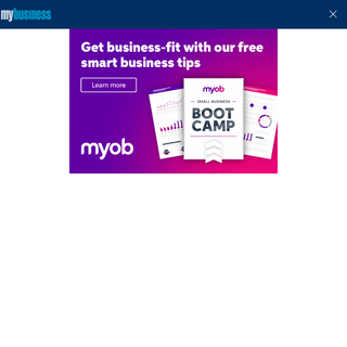 MyBusiness - essential insights and intelligence for Australian SMEs