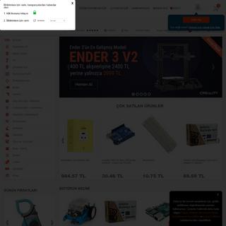 Robotistan - Elektronik Malzeme Marketi Online Satış