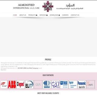 Almoayyed international - Home page