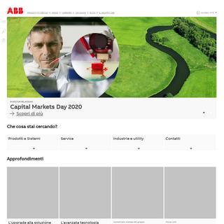 ABB in Italia