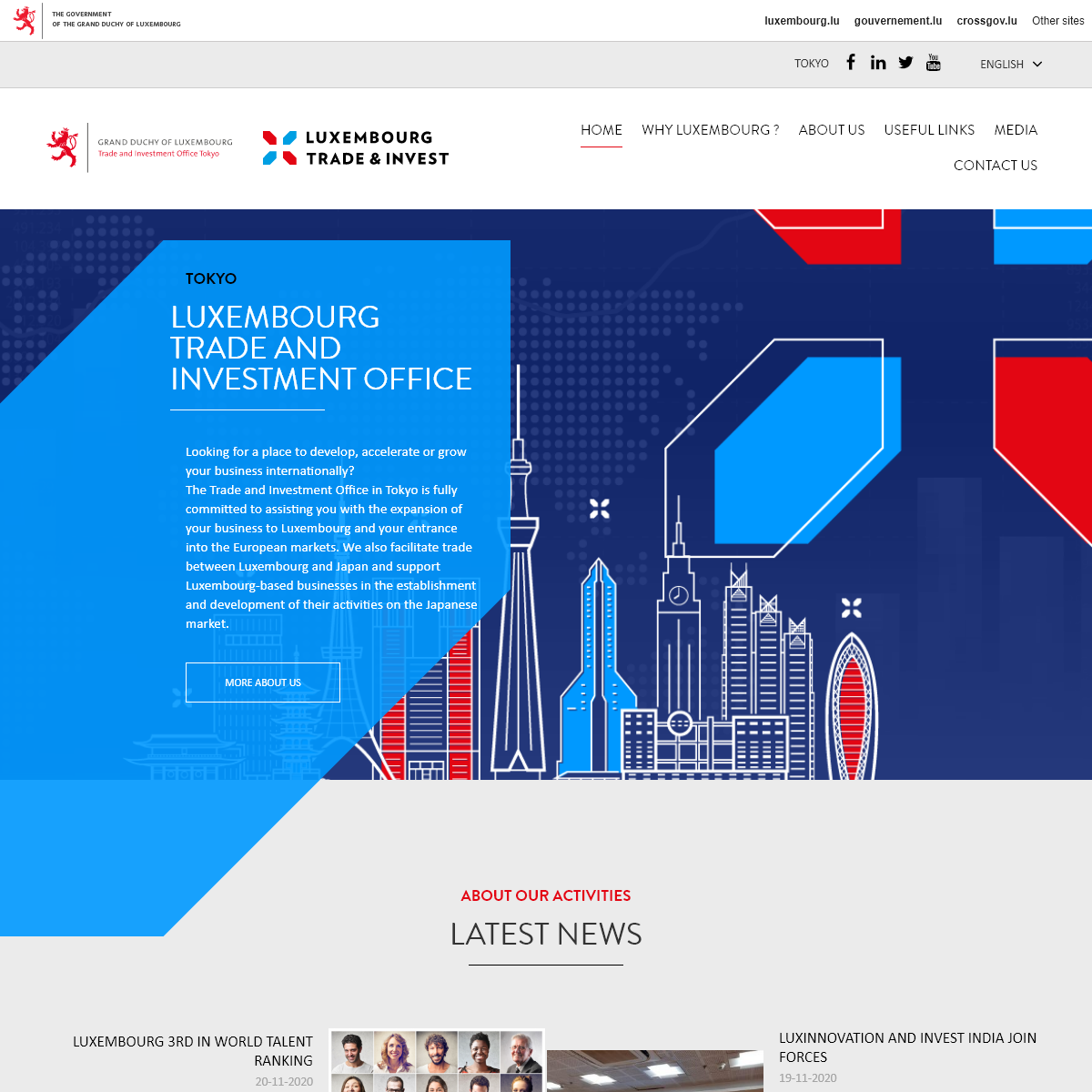 Tokyo » Luxembourg Trade and Investment Office