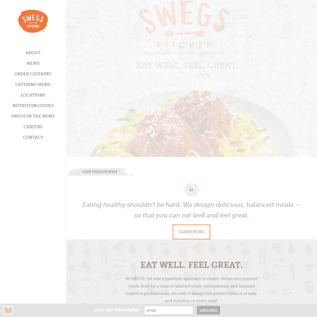 SWEGS Kitchen - Healthy Comfort Food