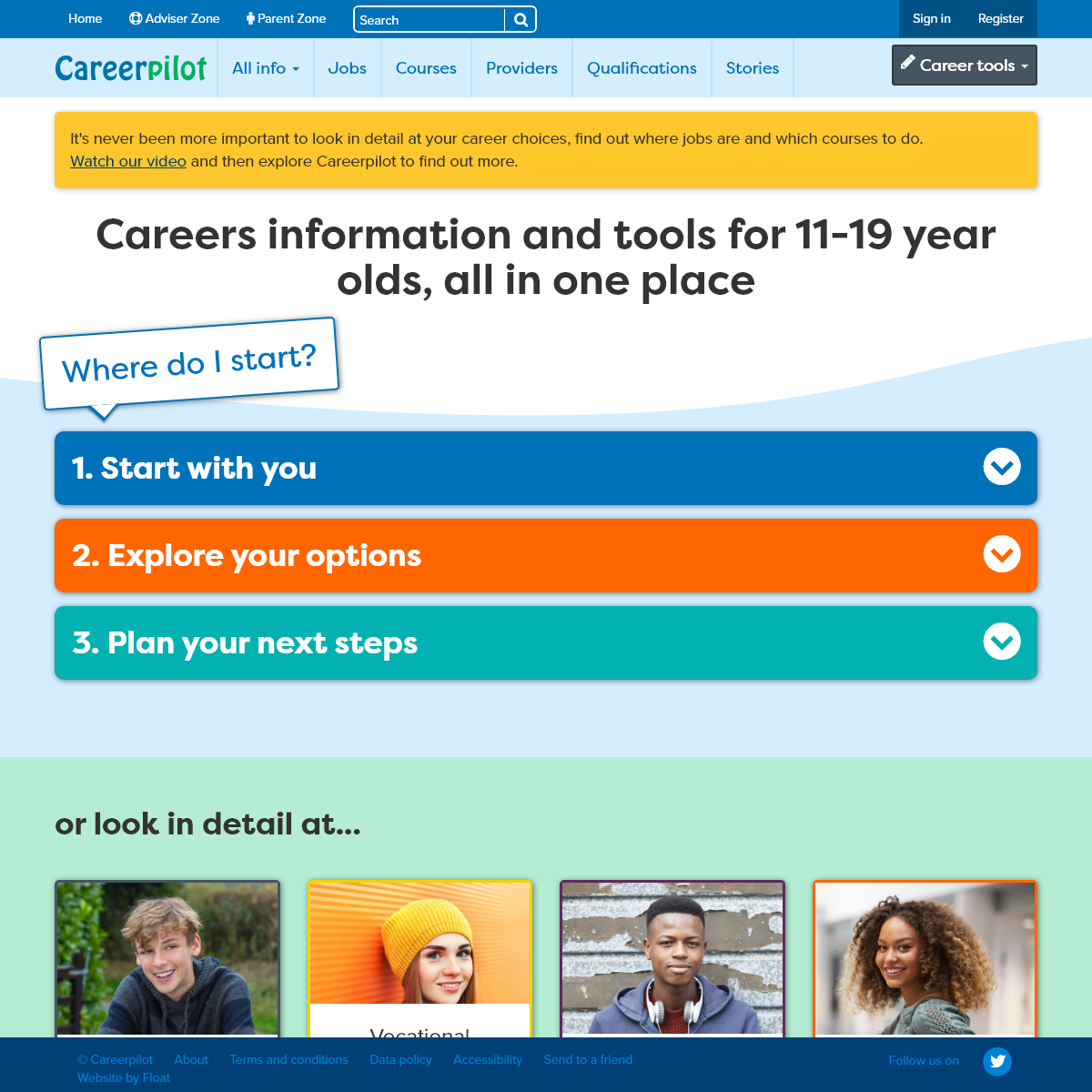 Careerpilot - Plan your future work & study