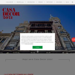 Casa Decor - La plataforma de interiorismo, tendencias y estilo de vida