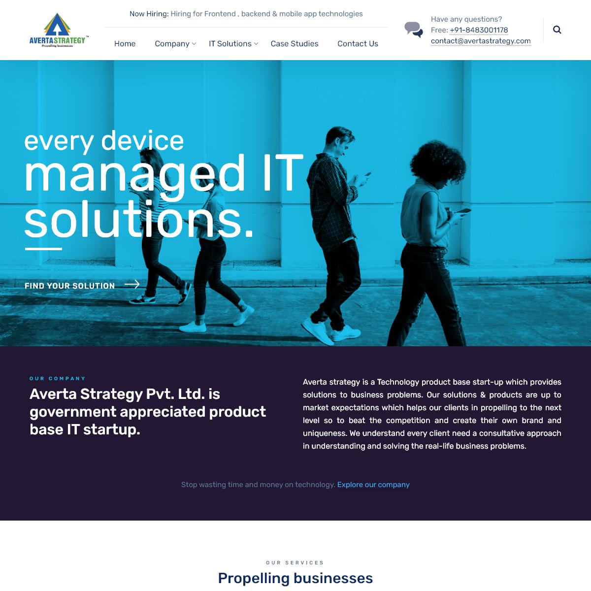 Home - Averta Strategy Pvt. Ltd.