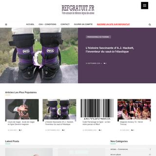 Refgratuit.fr - annuaire de site internet