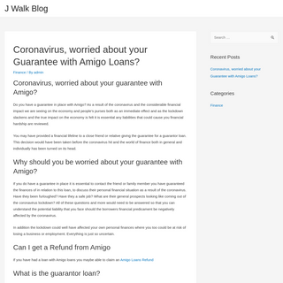 J Walk Blog – Finance - Home - Sport - Travel - Gadgets - Fashion - Tech