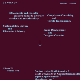 DS AGENCY - FASHION CONSULTING AGENCY