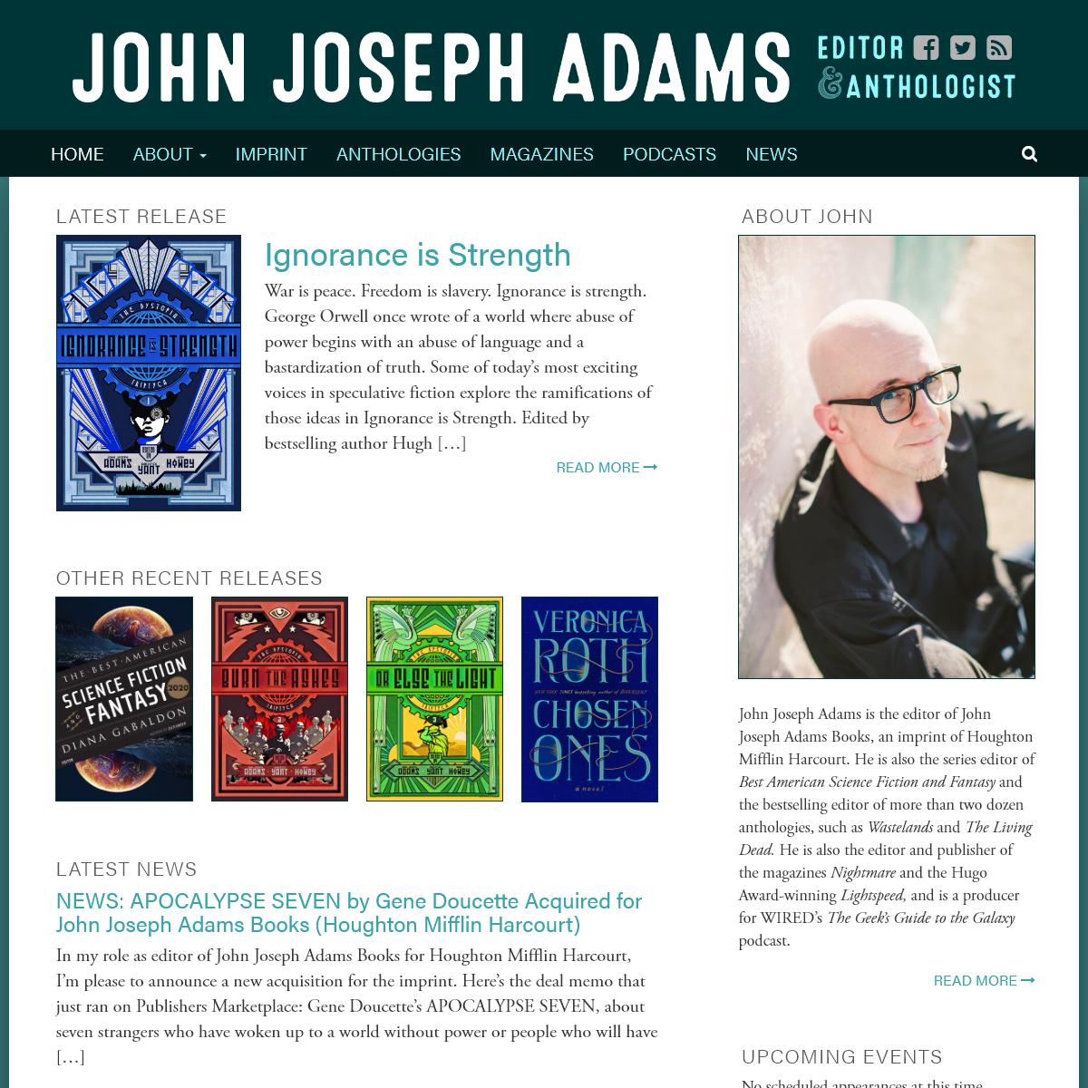 Home - John Joseph Adams
