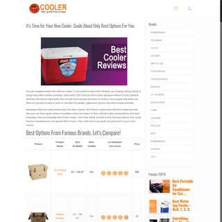 Find The Best Cooler in our Reviews & Guide - best-cooler.reviews
