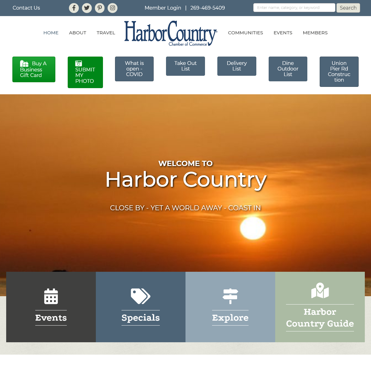Home - Harbor Country Chamber of Commerce - MI