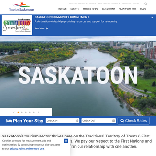 Welcome to Saskatoon - Hotels, Restaurants, & Things To Do