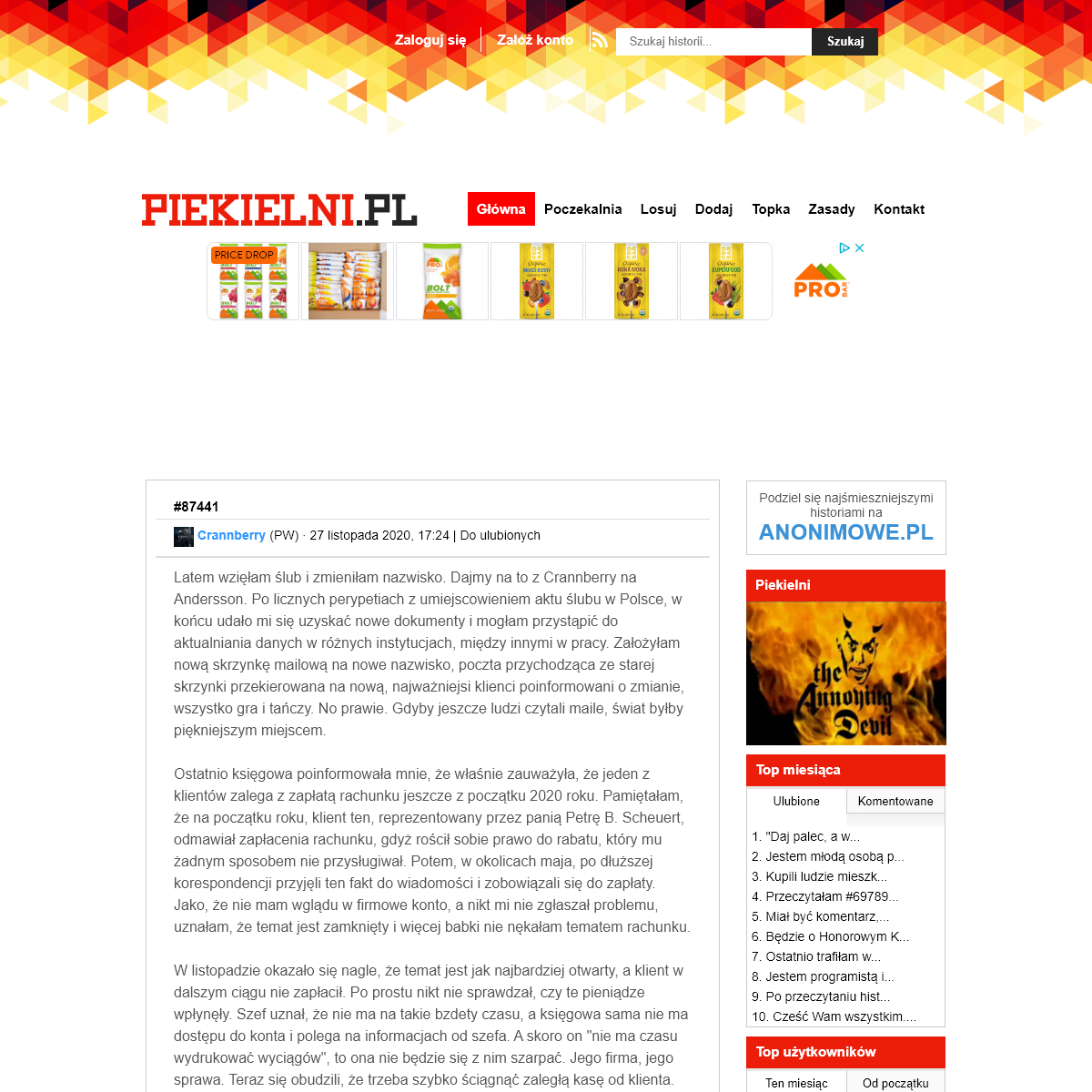 Piekielni.pl – Ludzie z piekła rodem