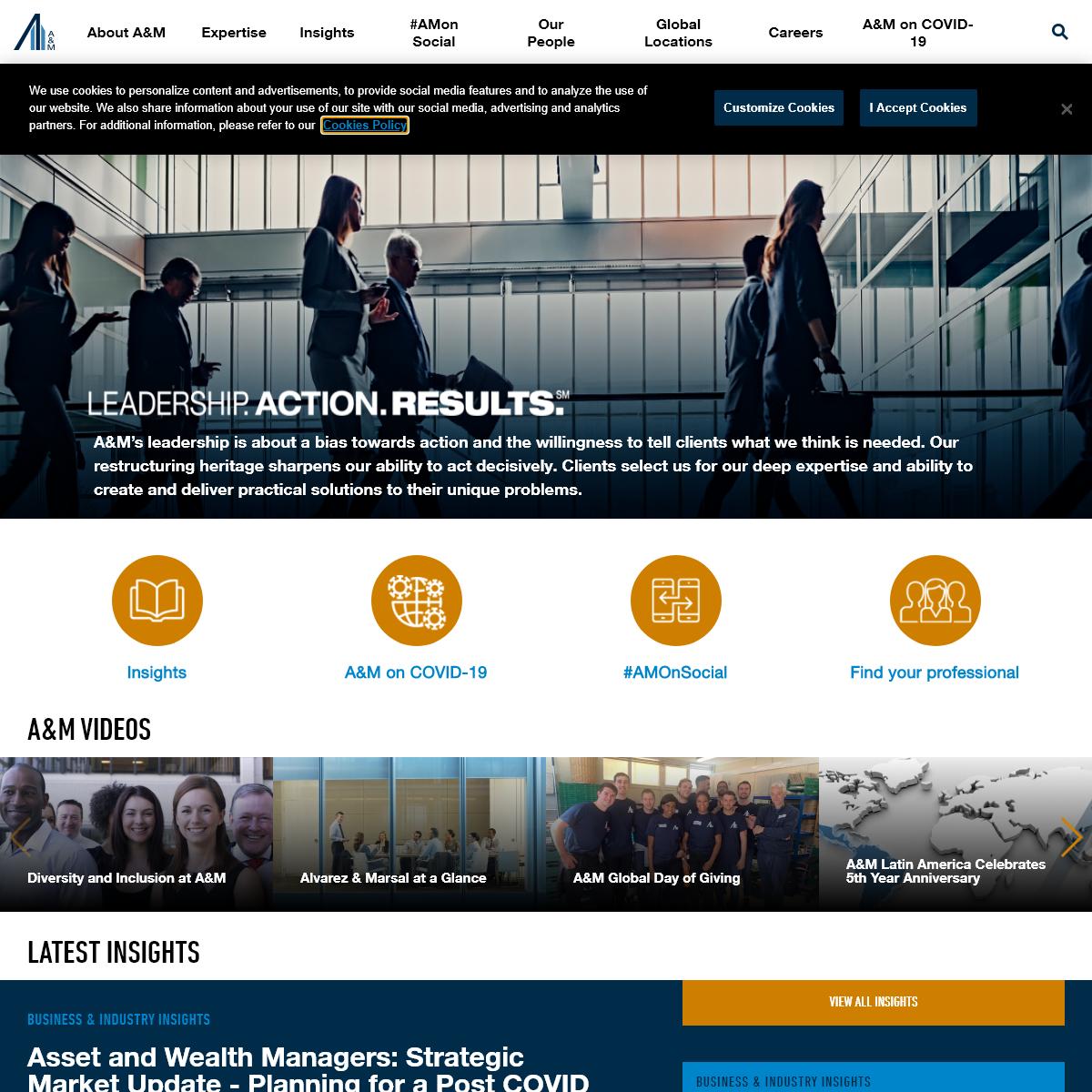 Alvarez & Marsal - Management Consulting - Professional Services