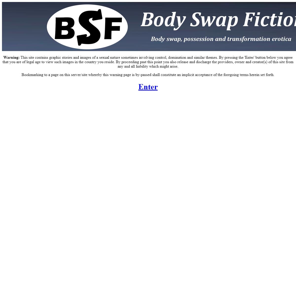 A complete backup of www.bodyswapfiction.com