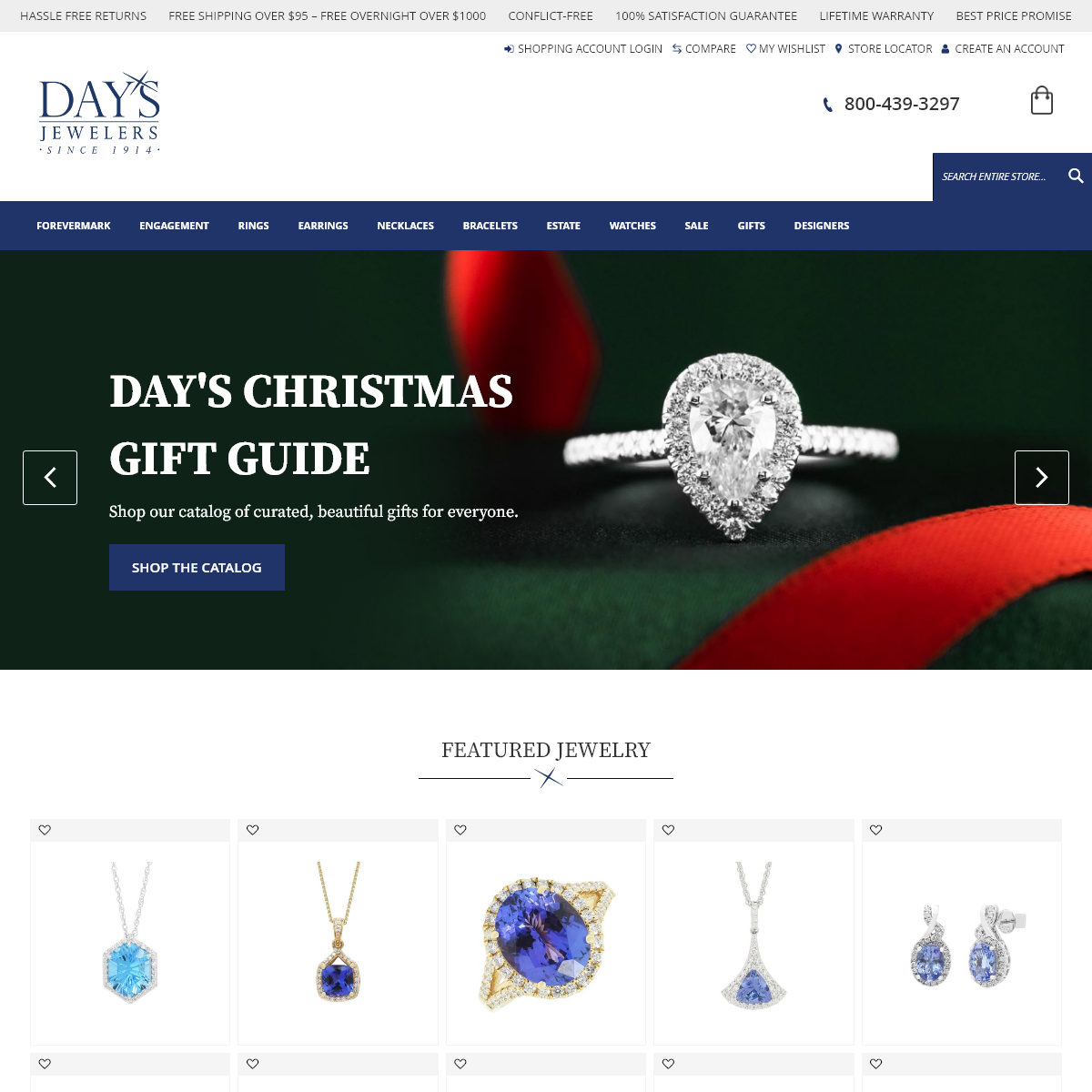 Day`s Jewelers Diamond Professionals Since 1914