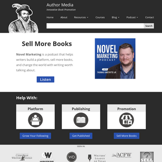 Author Media - Innovative Book Promotion For Writers