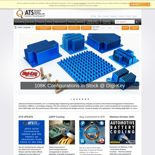 ATS - Advanced Thermal Solutions, Inc. - Innovations in Thermal Management