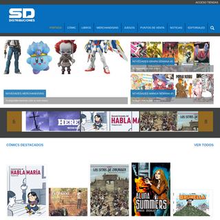 Comics, revistas, merchandising, juegos,... - SDDistribuciones