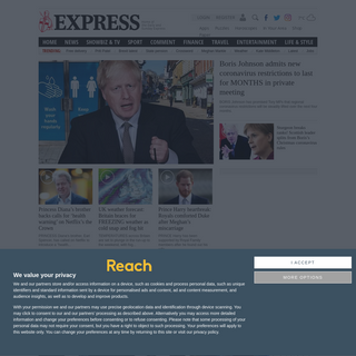 Latest UK and World News, Sport and Comment - Express.co.uk