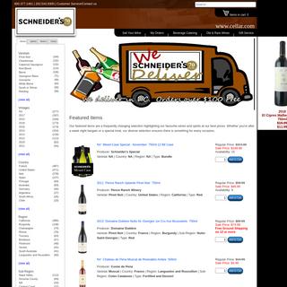 Fine Wines & Spirits - Cellar.com