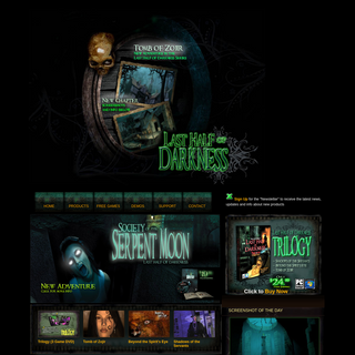 Last Half of Darkness FREE Online Adventure Game