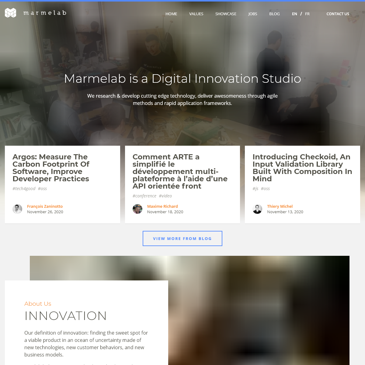 Marmelab - Digital Innovation Studio