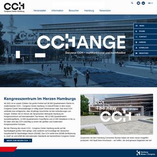 Kongresszentrum in Hamburg - Das neue CCH