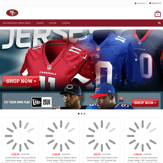 San Francisco 49ers Jerseys - Shop San Francisco 49ers Jersey, Hoodie and T-shirts for Men, Women, Kids