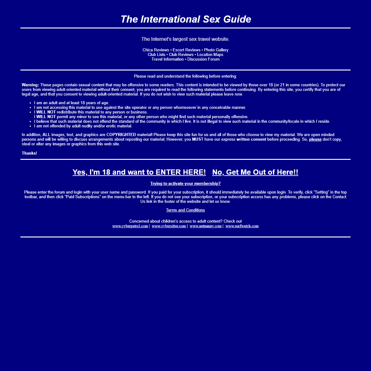A complete backup of internationalsexguide.info