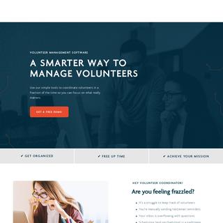 CERVIS - Volunteer Management Software