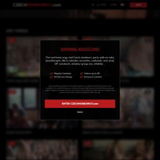 A complete backup of czechhomeorgy.com