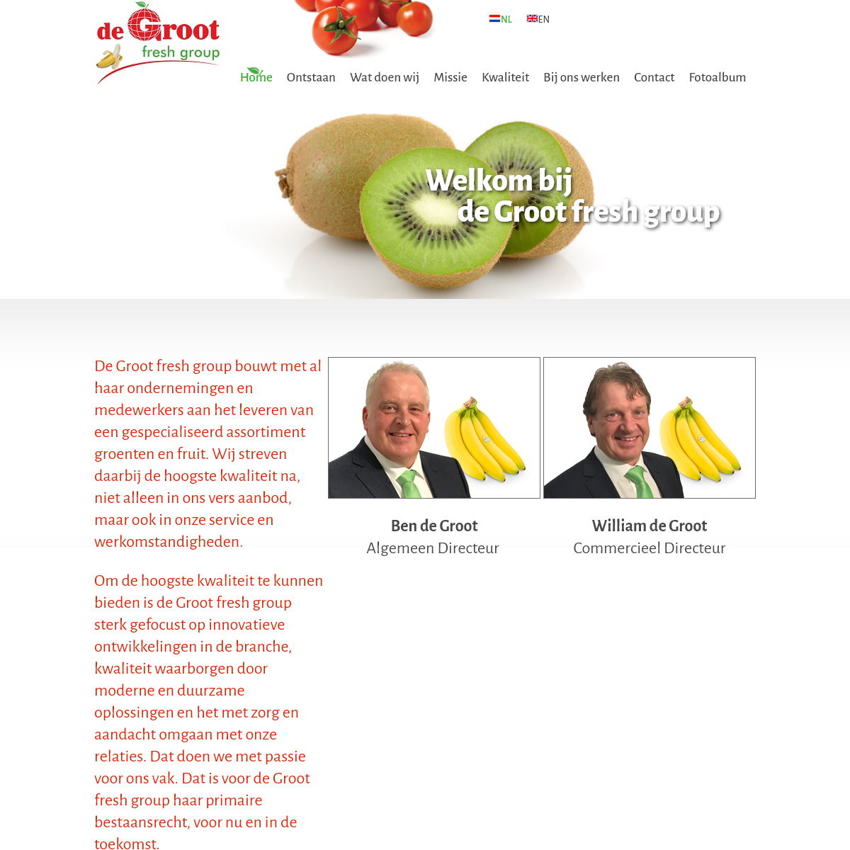 Home - De Groot Fresh Group