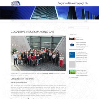 UNICOG – Cognitive Neuroimaging Lab