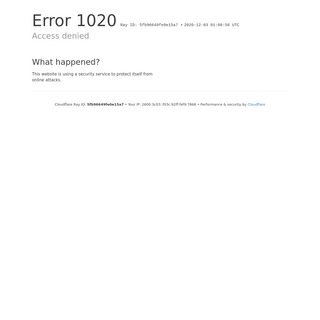 Access denied - 09444.info used Cloudflare to restrict access