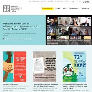 SBPC – Sociedade Brasileira para o Progresso da Ciência