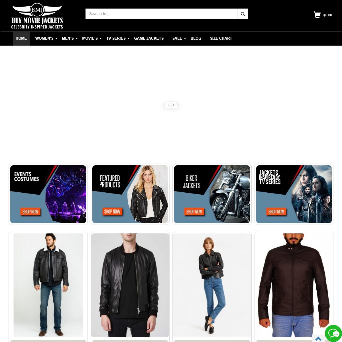 TV-Series & Movie Celebrities Leather Jackets Store - Buymoviejackets
