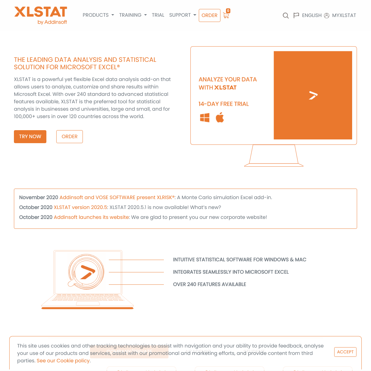 XLSTAT - Statistical Software for Excel