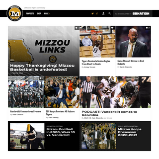 Rock M Nation, a Missouri Tigers community