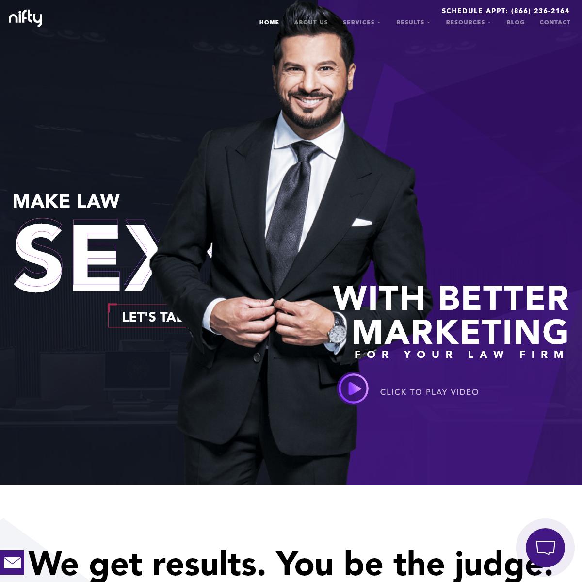 Legal Marketing = SEO + Design + Content + PPC + Social + Video