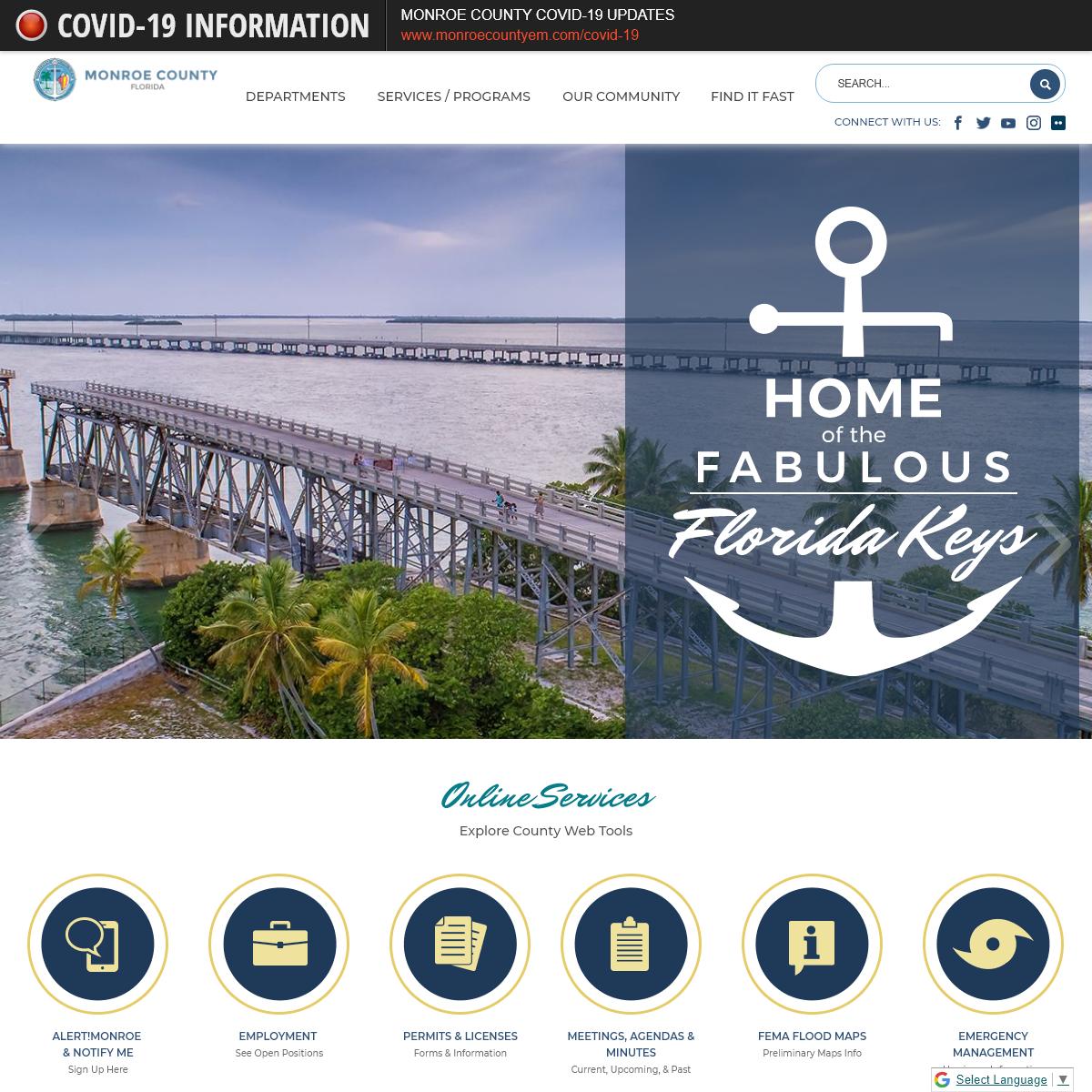 Monroe County, FL - Official Website - Official Website