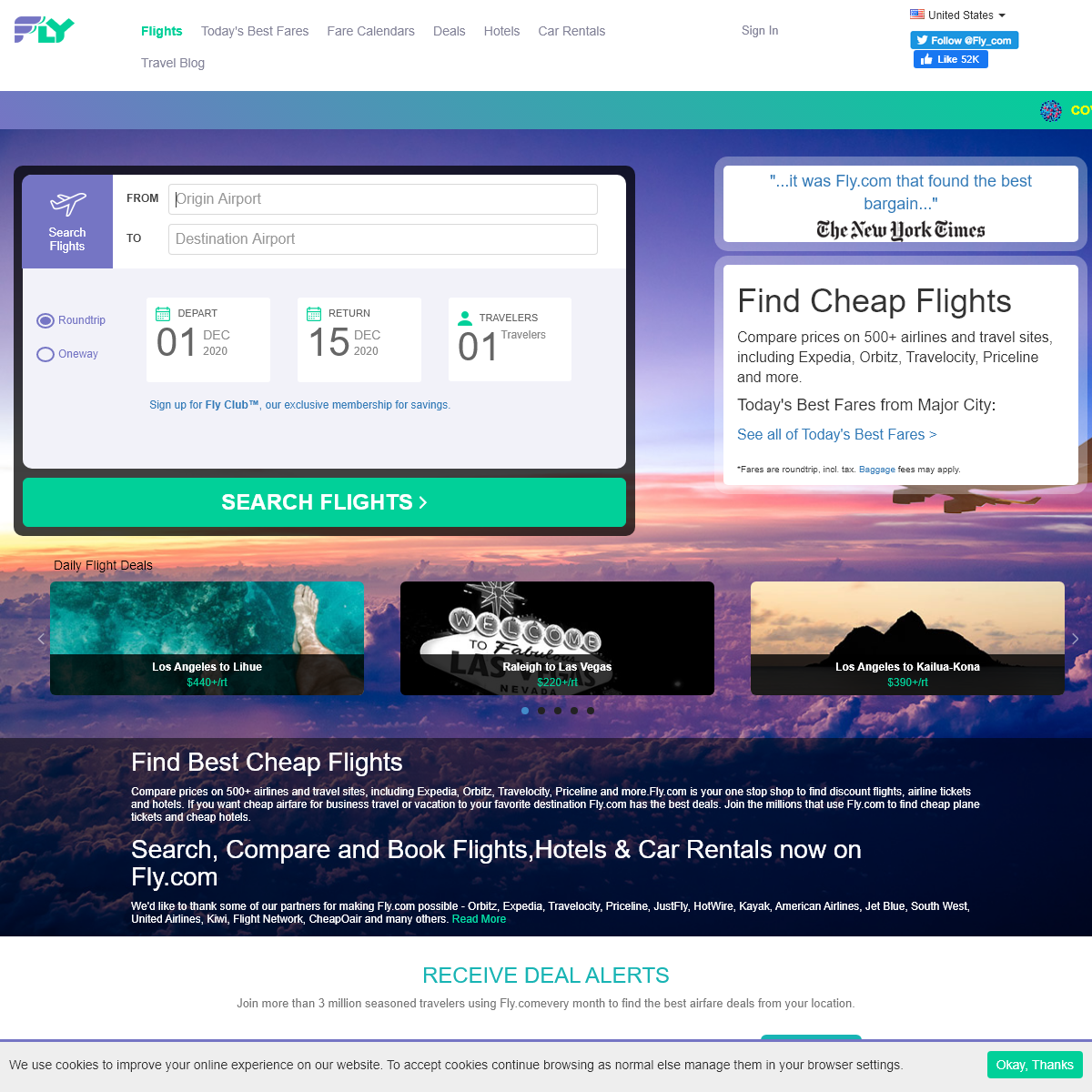 Cheap Flights- Flights Tickets, Airline Tickets, Search Flights - Fly.com us