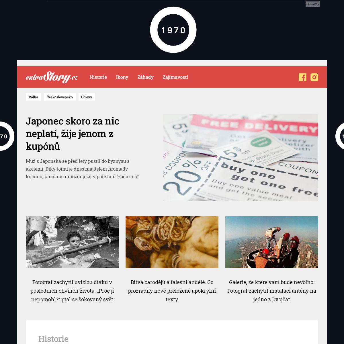 ExtraStory - Trendový magazín, který dá vašemu životu vzpruhu