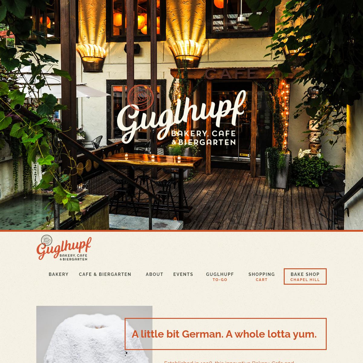 Guglhupf - Artisan Bakery, Cafe, Biergarten Durham NC