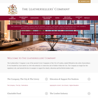 Home - The Leathersellers' Company